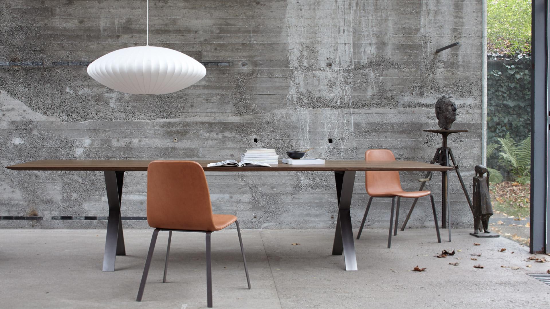 lax tisch von more walter bissig m bel f r b ro und. Black Bedroom Furniture Sets. Home Design Ideas